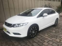 Civic 2.0 lxr 16v - automático 50 mil kms - 2016