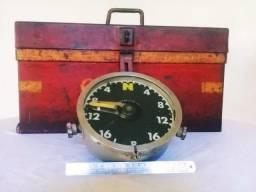Manômetro De Locomotiva À Vapor - Relíquia Antiguidade