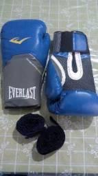 Luvas de Boxe/Muai Thay + ataduras