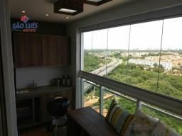 CP- Apartamento com varanda, área COMPLETA de lazer e muito mais