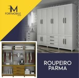 Roupeiro Parma 10 Portas ( Entrega Grátis)