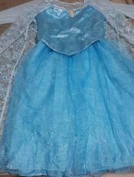 Fantasia da Elsa - Frozen - infantil comprar usado  Curitiba