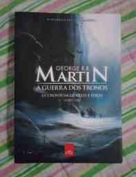 Livro - As Crônicas de Gelo e Fogo (Livro 1 - Game Of Thrones)