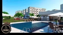 RS Condomínio fechado com apartamentos de 2 quartos, piscina , no Fragoso