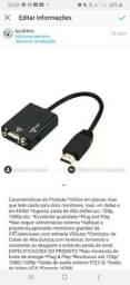 Adaptador VGA X HDMI