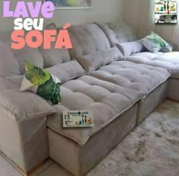 Lavamos sofa a seco