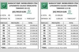 Imobiliária Baracat, terrenos com entrada de 3.000 + parcelas a partir de 310,00