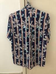 Camisa Floral top