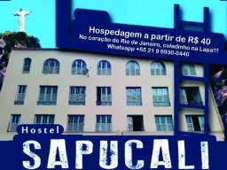 Hostel / Pousada SapucAli - Centro do Rio - Rua de Santana