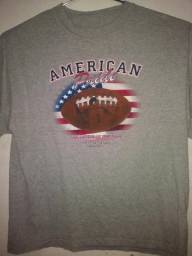 Camiseta Futebol Americano Nfl Tamanho Especial Xgg L(60cm) American Pride