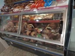 Freezer expositor de carne auto serviço