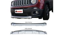 Aplique Dianteiro Jeep Renegade 2016 2017 2018