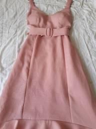 Vestido Rosé M