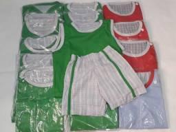 Conjunto Infantil Short e Camisa Pague 1 e Leve 12 Unidades comprar usado  Osasco