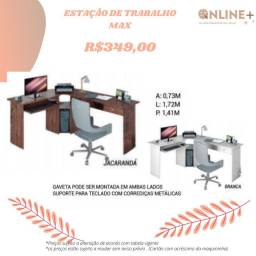 Mesa para escritório ENTREGO E MONTO