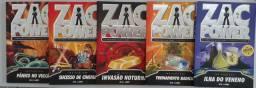 Kit c 5 livros Zac Power