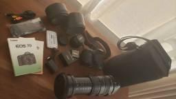 Lente Sigma DG 50-500mm 1:4.5-6.3 APO HSM+ Canon 7D EOS