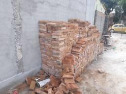 Tijolos de demolição 5x11x22
