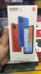 Redmi 9 4 de RAM 64 GB IMPERDÍVEL da Xiaomi.. Novo.. lacrado.. Cartão