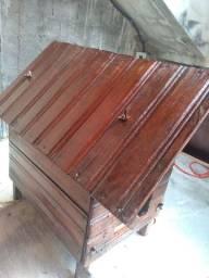Casinha de madeira para Pincher