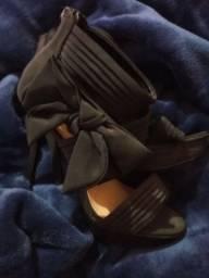 Sapato comprado na Suiça