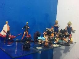 Vendo coleção action figuret dragonball z Naruto