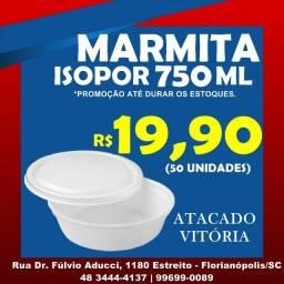 Marmita de isopor