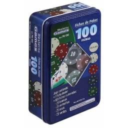 (WhatsApp) fichas p/ jogo de poker - 100 unid