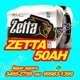 Bateria Zetta 50AH com a super oferta relâmpago