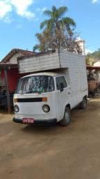 Kombi Elma Chips baú food truck motorhome
