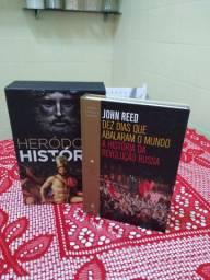 Livros novos vendo 3 livros.