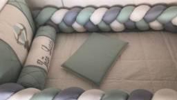 Kit de berço mais kit cama babá