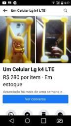Vendo um Celular LG K4