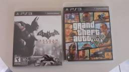 Jogos PS3 GTA 5 3 Batman usados