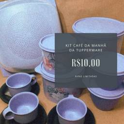 Kit Café da manhã Tupperware