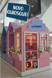 Vendo mobiliário de loja (quiosque) desinstalada