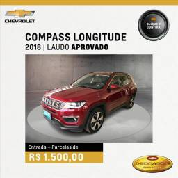 Título do anúncio: JEEP COMPASS 2.0 16V FLEX LONGITUDE AUTOMÁTICO