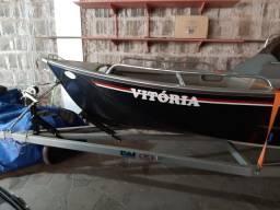 Título do anúncio: Barco Karib 500 - Motor 40hp - 2020
