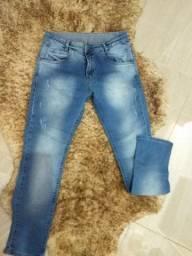 Calça jeans infantil Tam 10