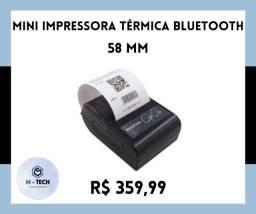Título do anúncio: Impressora Térmica Bluetooth 58 mm