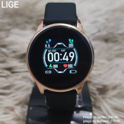Relógio Digital Inteligente Smartwatch Lige Exclusivo