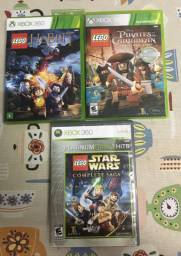3 jogos lego xbox 360 originais