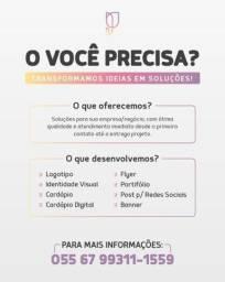 Título do anúncio: Designer Gráfico   Id. Visual   Social Media
