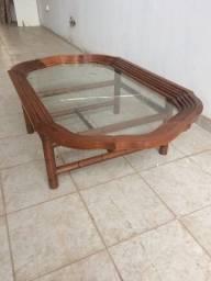 Mesa de centro oval