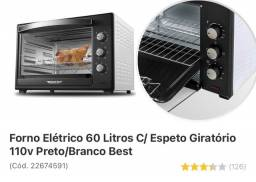 Vendo forno elétrico 60 litros