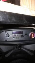 Título do anúncio: Caixinha de som Bluetooth 30cm