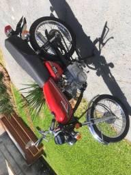 Moto Honda CG 125 1981 (bolinha)
