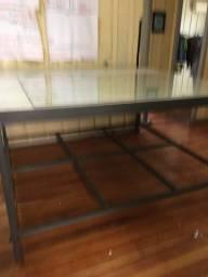 Título do anúncio: Vendo mesa ferro 1.80 por 165 por 400 real