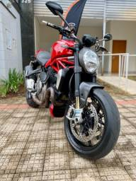 Título do anúncio: Ducati Monster 1200 S 2018 - muito nova