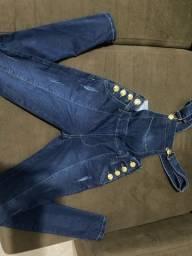 Título do anúncio: Jardineira Jeans
